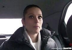 Kibaszott porno beleélvez egy szőke interjú után